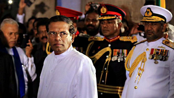 Sri Lanka president intervenes on behalf of accused military men