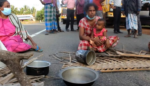 Tamils fight back ongoing land grabbing in northern Sri Lanka