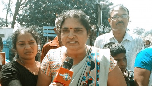 Rights activist Tamil mother attacked by suspected Sri Lanka paramilitaries