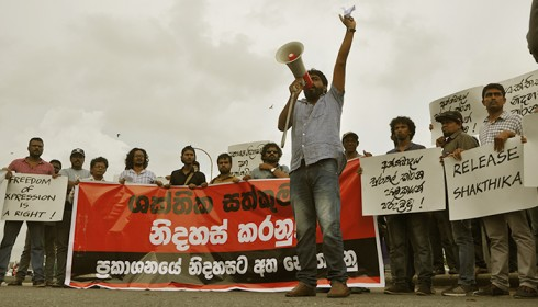 Worldwide campaign launched for release of Sri Lankan writer