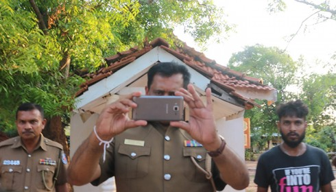Tamil journalist reporting police inaction intimidated by senior officer