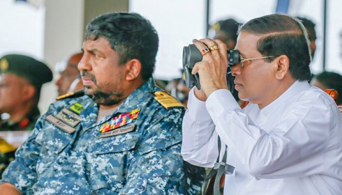 "Sri Lanka navy top brass in ""sinister plot"" against investigators and witness"