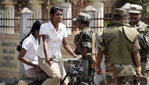 Sri Lanka deploy Security officers within Tamil majority campus