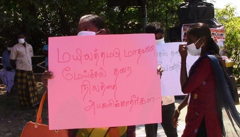 Mounting harassment of journalists poses threat to media freedom in eastern Sri Lanka