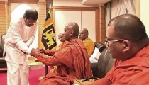 Sri Lanka president's office confirms militant monk in Tokyo meeting